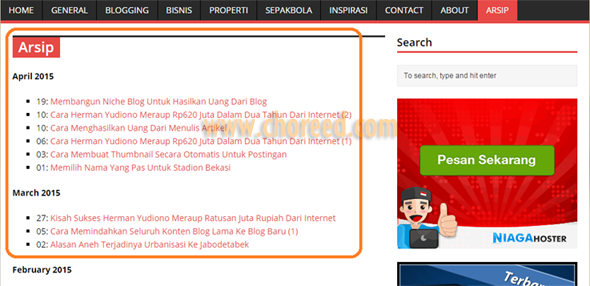 hasil wp-archives