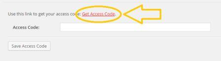 get access code google analytics